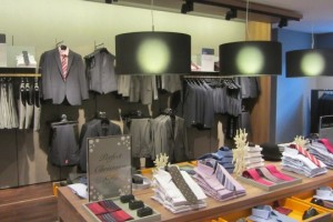 Show Room Austin Reed London Luci Italiane