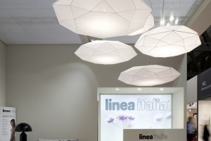 Diamond, Linea Italia stand, Doimo group, I Saloni Milano 2011.